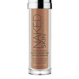 New UD Naked skin weightless foundation